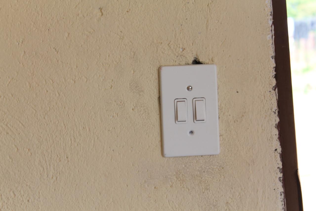 Lichtschalter danach
