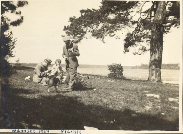 Wannsee 1927 pic-nic