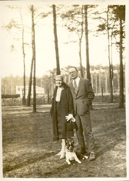 1927 Wannsee - Jean et ? avec Robby.