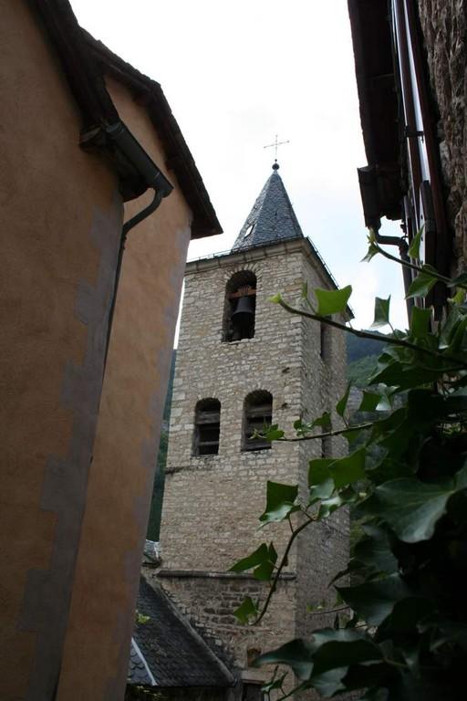 Clocher de l'église de Ste Enimie