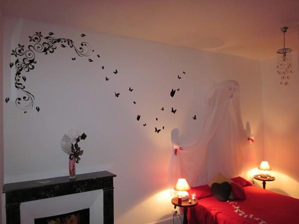 La chambre Enimie... une bulle de romance
