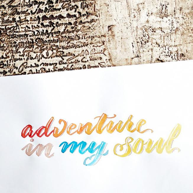 Letter Lovers derherrlehrer: Handlettering adventure in my soul