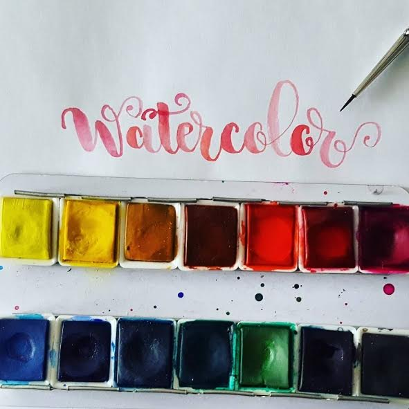 Letter Lovers halfapx: Handlettering Watercolor