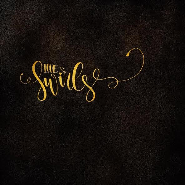 Letter Lovers halfapx: Lettering Love Swirls