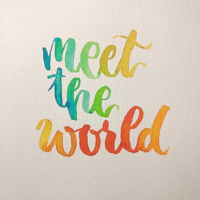 Letter Lovers derherrlehrer: Handlettering meet the world