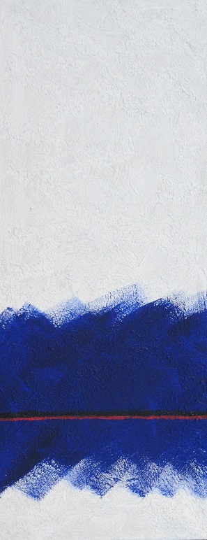 Il cammino II, 2009 (Diptychon)
