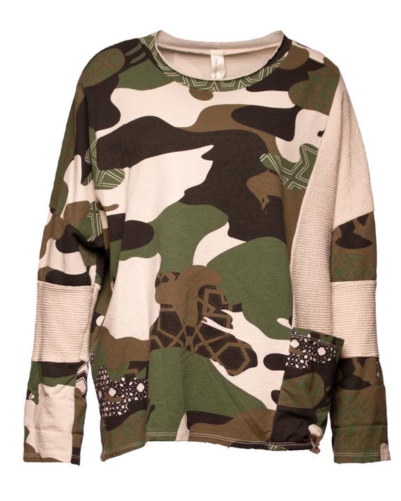 Sweatshirt Camouflage 29,99€