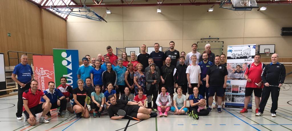 Badminton Camp 2019 mit Hans Werner Niesner und Trainerteam