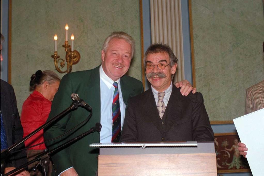 Gottfried Kumpf mit Harald Serafin