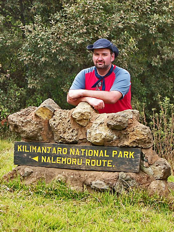 zum Kilimanscharo in Tansania