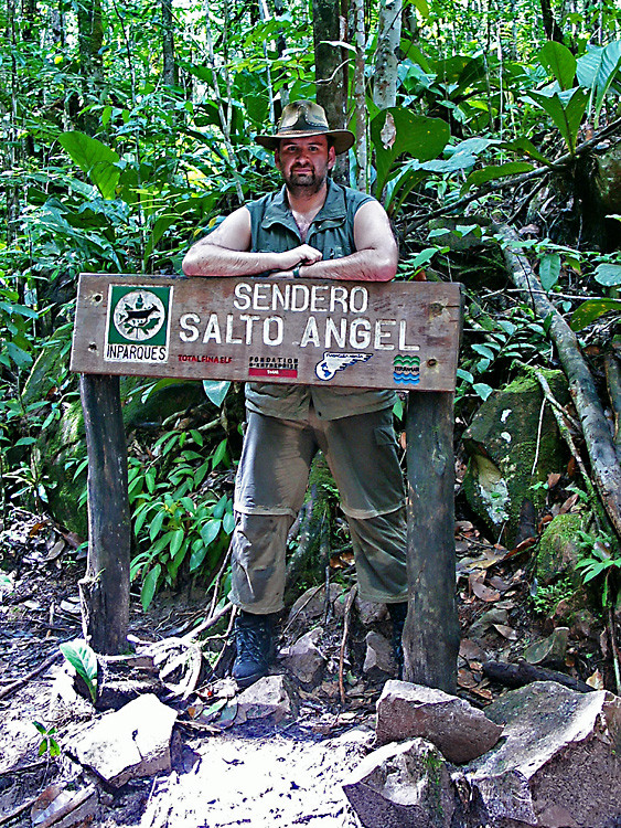 bei den Tafelbergen in Venezuela