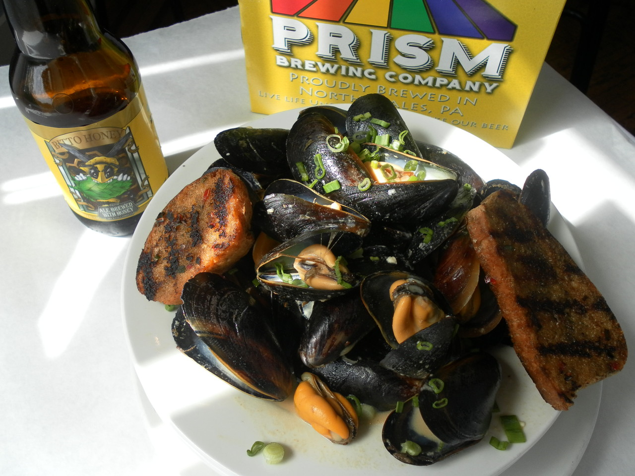 North Wales Beer Steamed Mussels