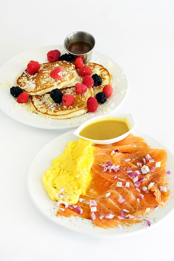 Scottish Wedding Breakfast and Honey Lemon Pancakes