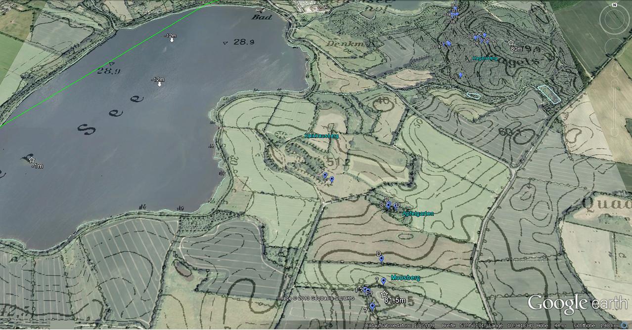 NO-Ufer Topographie