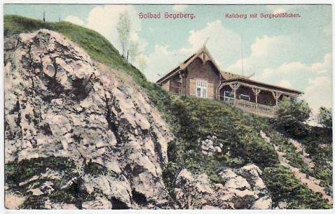 Bergschlößchen um 1902