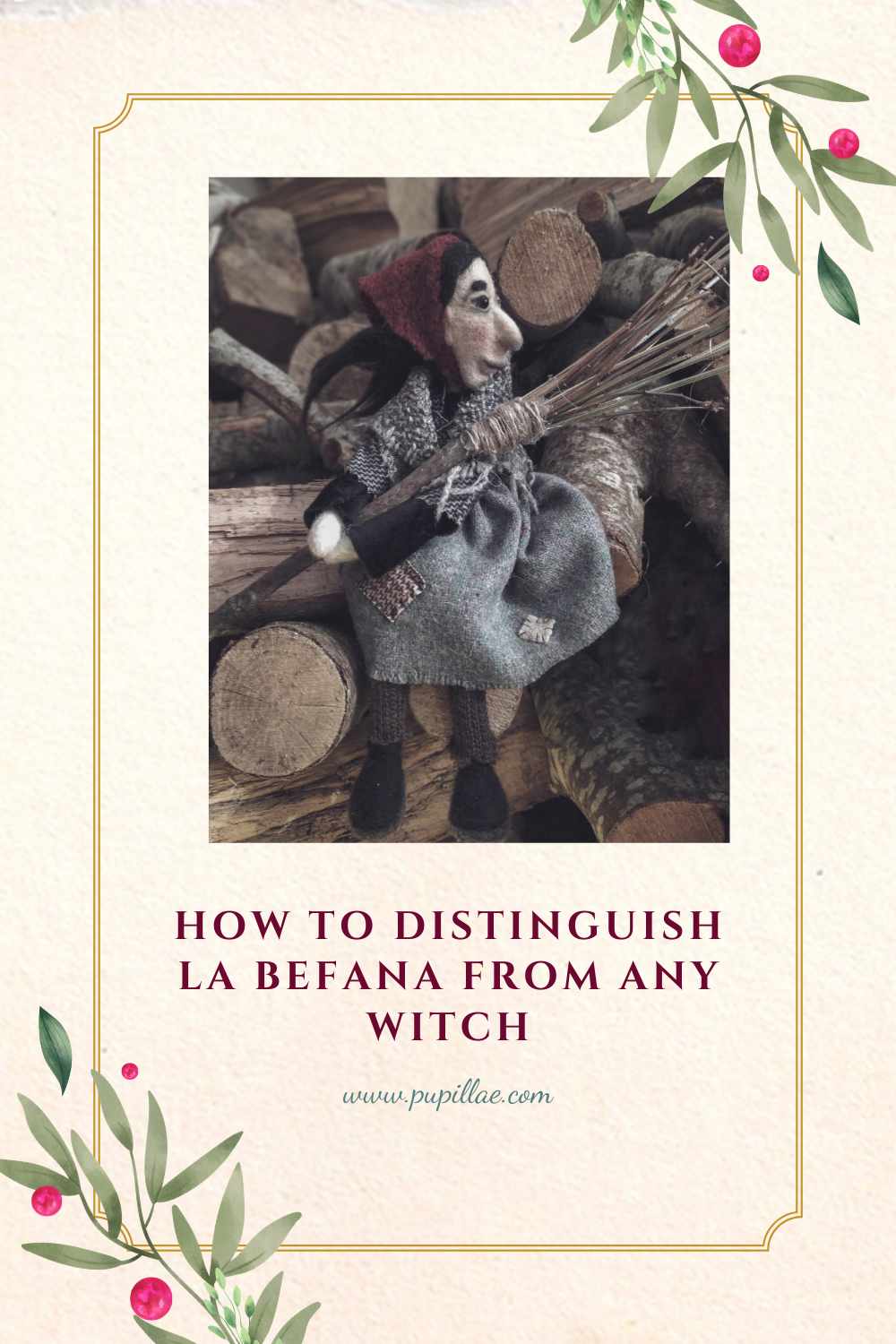 How to distiguish La Befana from any witch