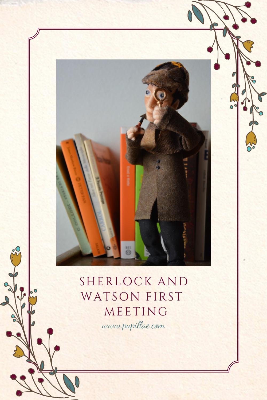 Sherlock Holmes e Watson: the first meeting