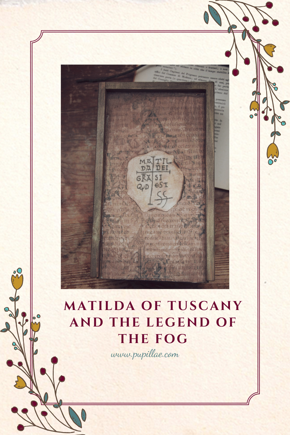 Matilda of Tuscany and the legend of the fog