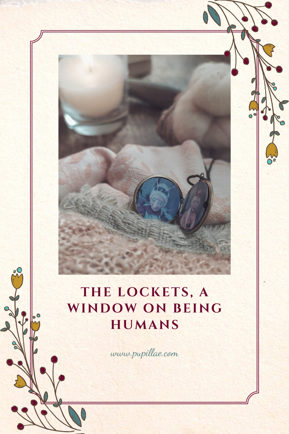 The lockets, a window on being human.
