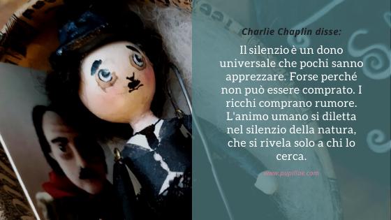 Bambola in miniatura di Charlot, Charlie Chaplin