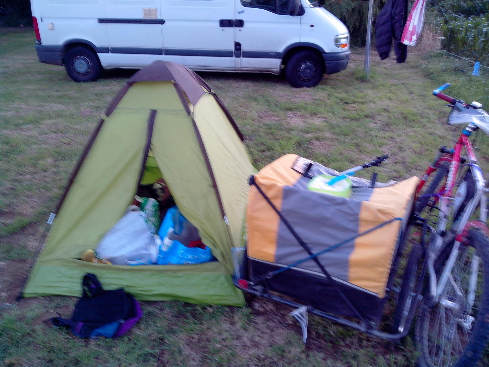 1ère nuit en camping rural !
