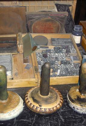 Gutenbergs zündende Idee: bewegliche Bleilettern