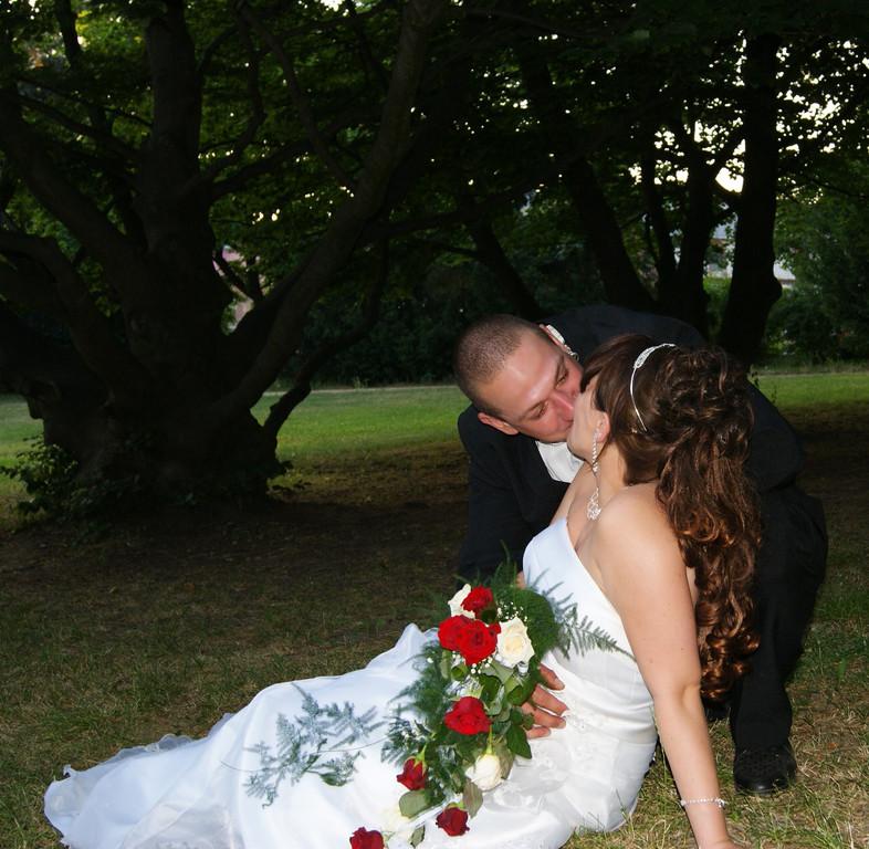Hochzeits-Frisur mit Haarteil