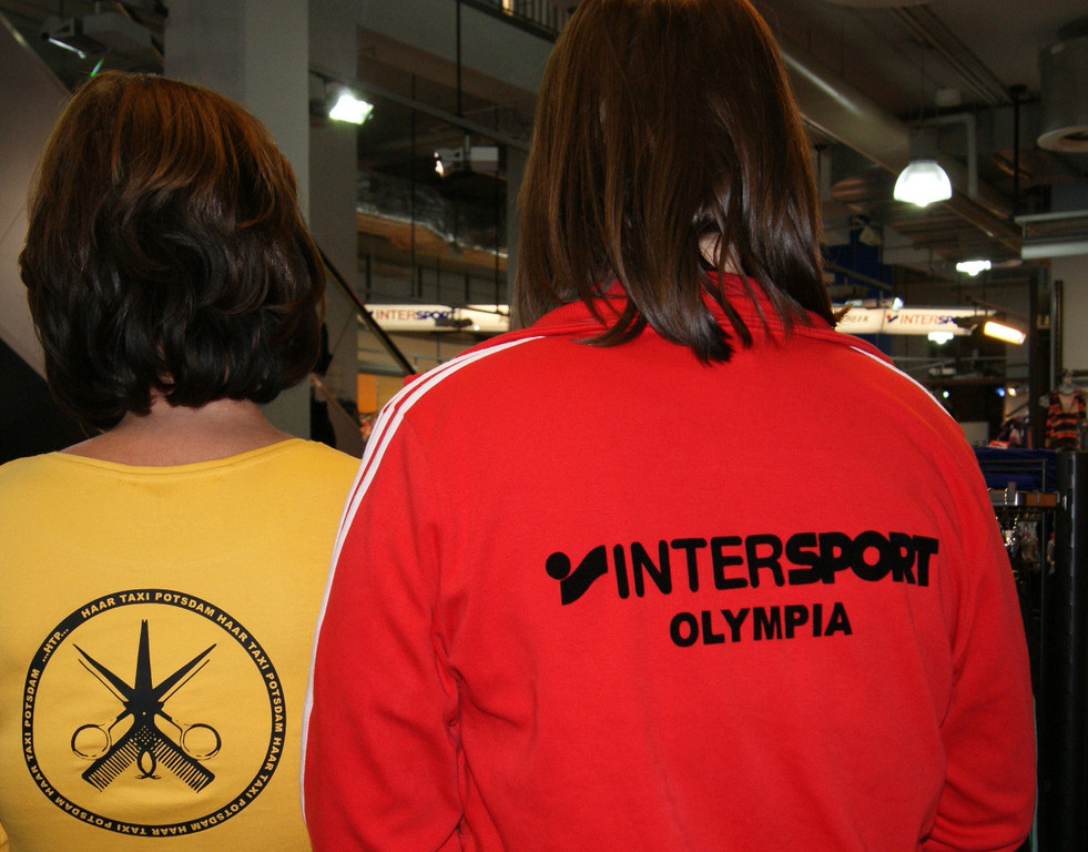 Haartaxi @ Intersport Potsdam