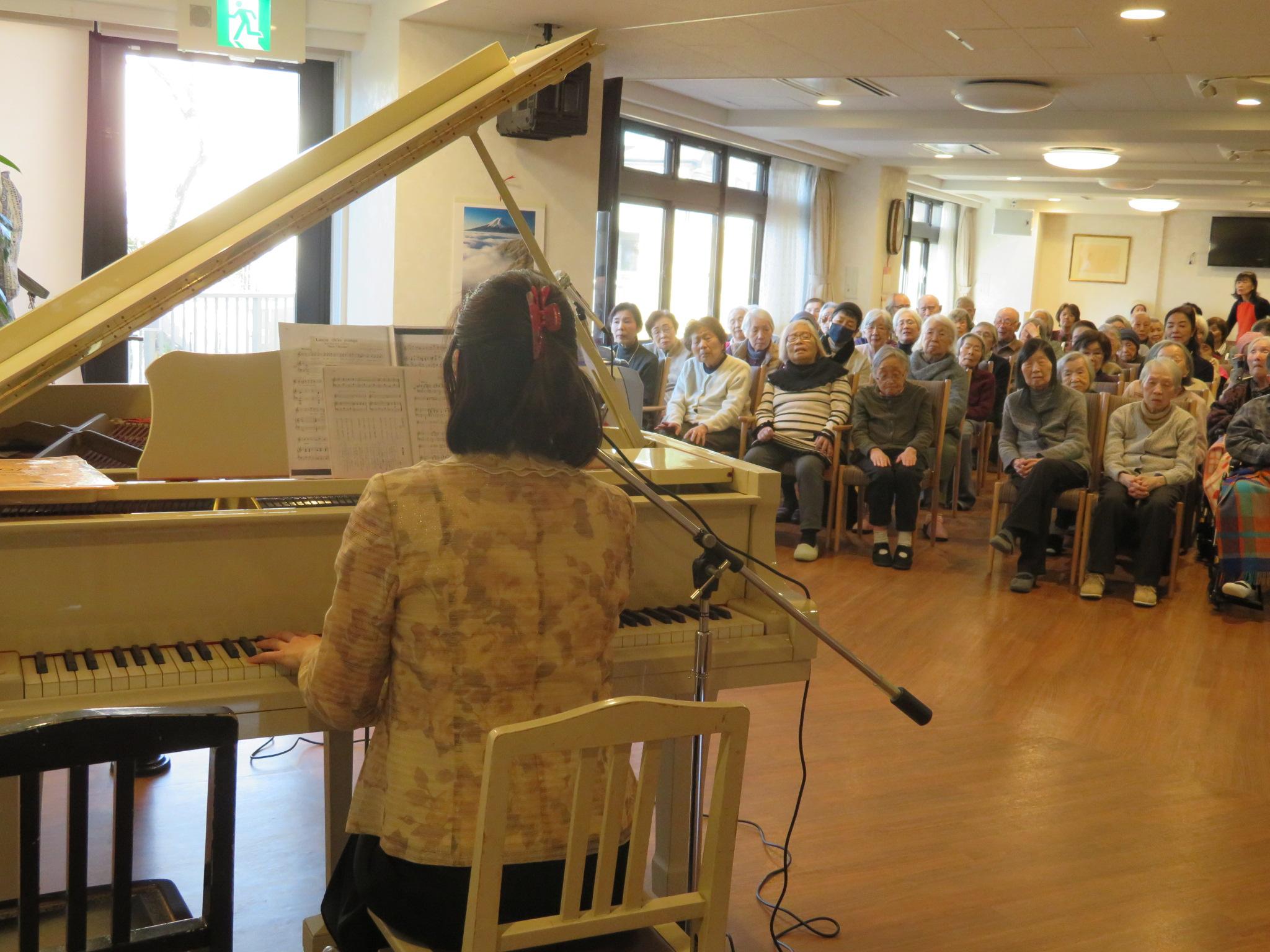 歌とピアノのコンサート