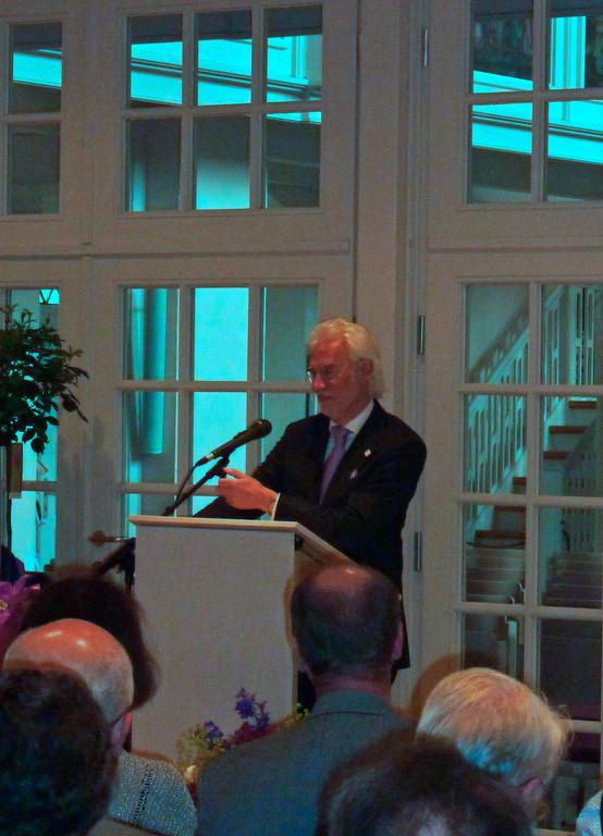 Bürgermeister  und Vorsitzender des Stadtrates Bernd Strauch