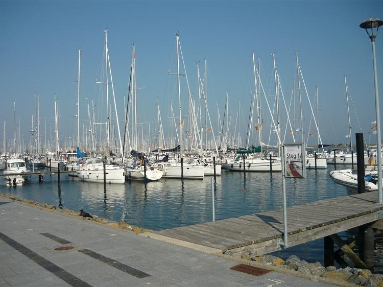 Ausflug an den Yachthafen in Heiligenhafen