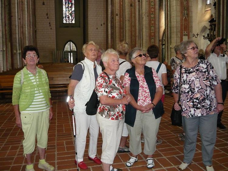 Besuch der Kirchen in Lübeck