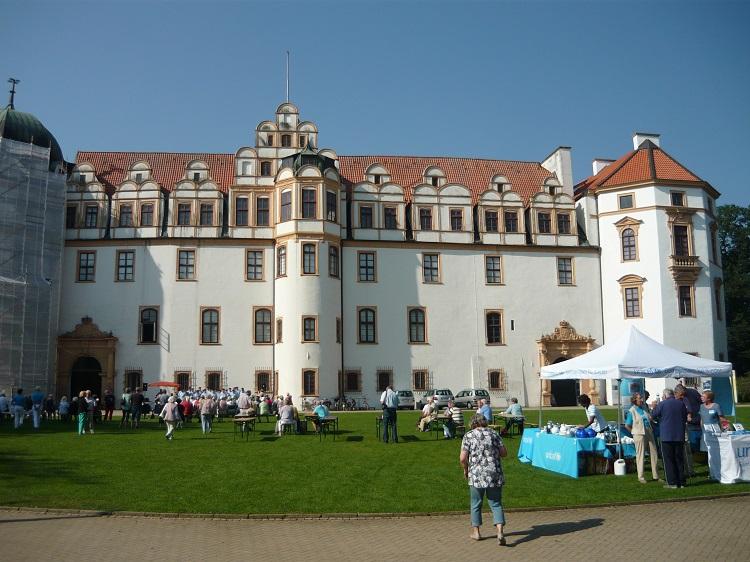 Veranstaltung rund um das Celler Schloss.