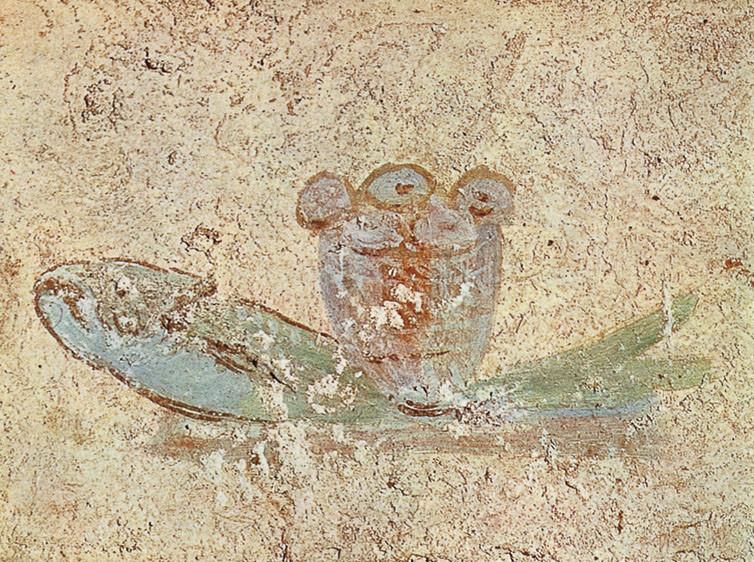 Pittura Murale Paleocristiana Simboli  semarang 2022