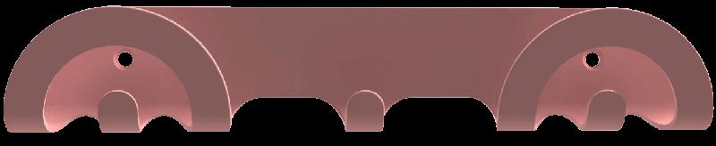 portemanteau mural design rose à petit prix