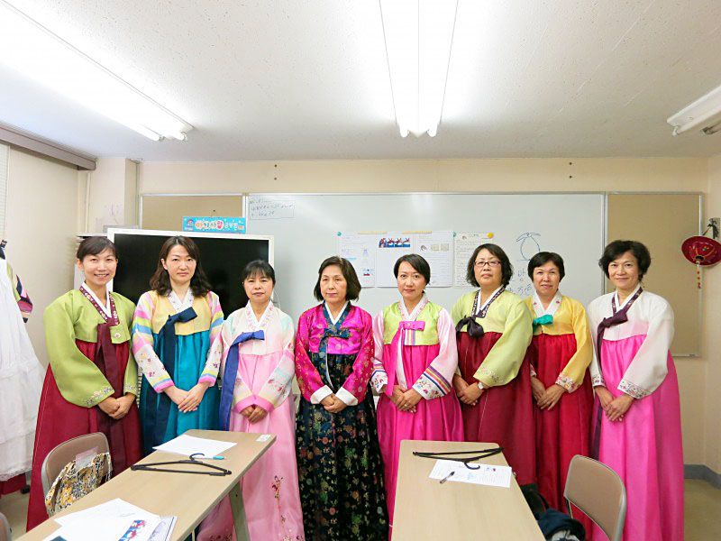 2015年 文化祭 公益財団法人 神奈川韓国総合教育院