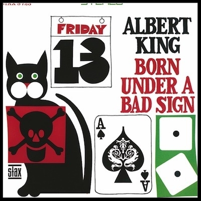 Plattencover Albert King - Born Under A Bad Sign (LP, 180g Vinyl)
