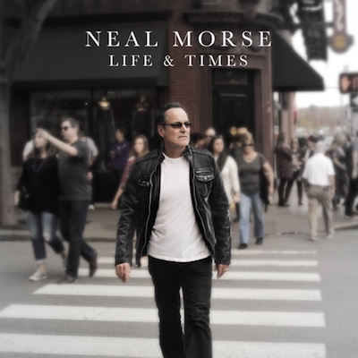 Das Plattencover der LP Neal Morse - Life & Times