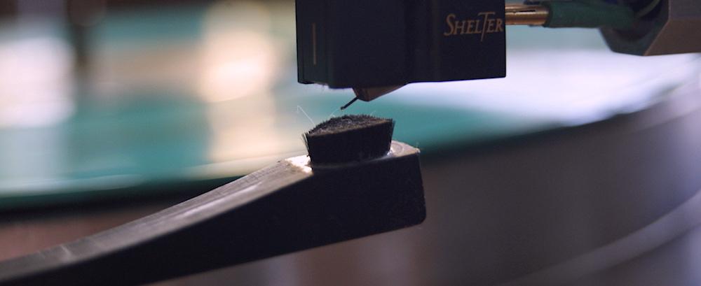 Tonabnehmer-Nadel richtig reinigen