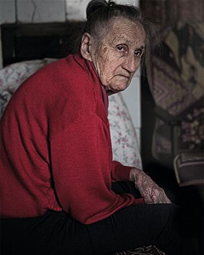 Tolminkiemis, Tollmingkehmen, Чистые Пруды   Old Woman Of Budriai   34x34 cm   2012
