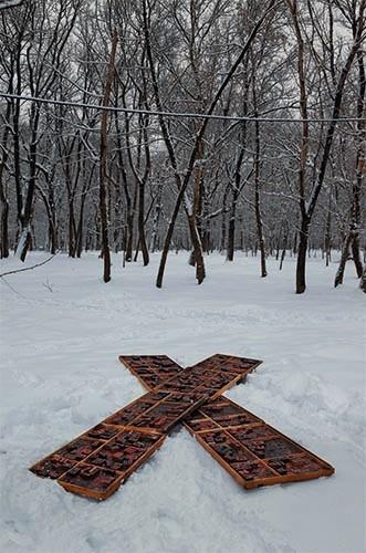 Russian LITERRAture   digitales Foto / Fineart 8-Farb-Druck   50x70 cm   2011   Krasnodar