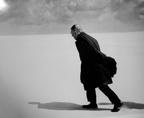 57,00x46,50cm, Jean-Paul Sartre, in Lithuania 1965