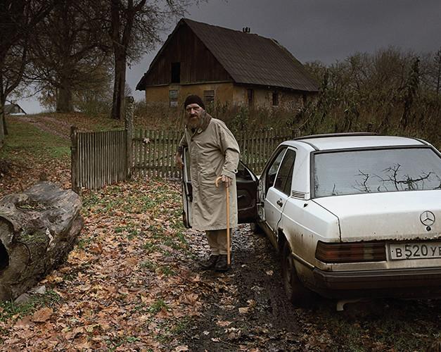 Nasava, Nassawen, Лесистое   Forest District. Hopes' Homestead Of Aleksandras   34x34 cm   2012