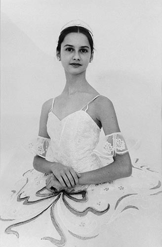 Ballerina | analoges Foto / Handabzug S/W | 1990 | Dnjepropjetrowsk