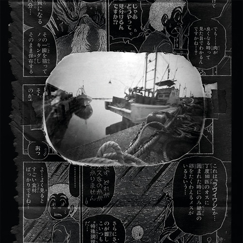 """From cycle ( 8 of 10 photos) """"Japanmix""""   pinhole camera   22x22 cm   2009"""