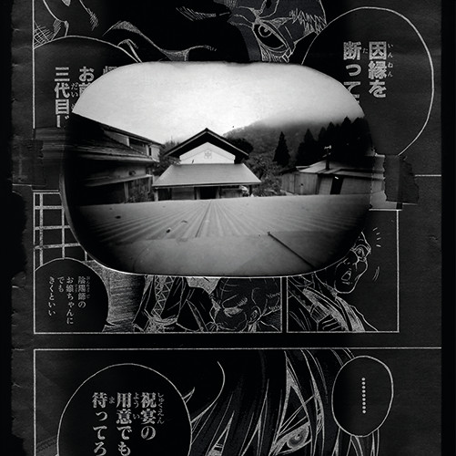 """From cycle (10 of 10 photos) """"Japanmix""""   pinhole camera   22x22 cm   2009"""