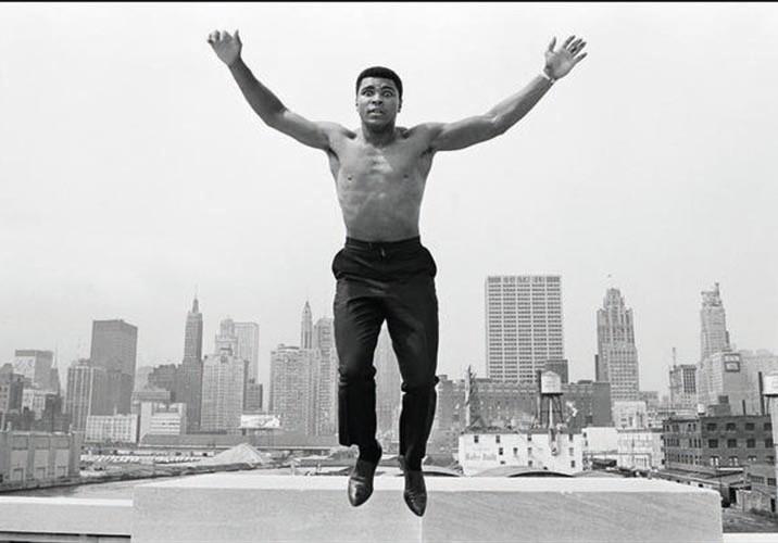 Ali jumping | Pigmentdruck | 110x156 cm | 1966 | Chicago