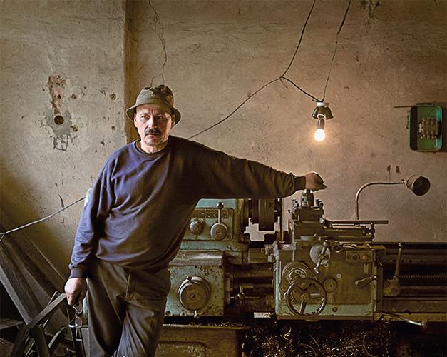 Tolminkiemis, Tollmingkehmen. Чистые Пруды   Romas Budrys   34x34 cm   2012