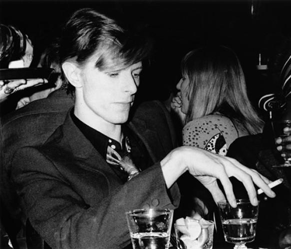 """""""David Bowie""""   silver gelantine print   30x40 cm   1975   Hollywood"""