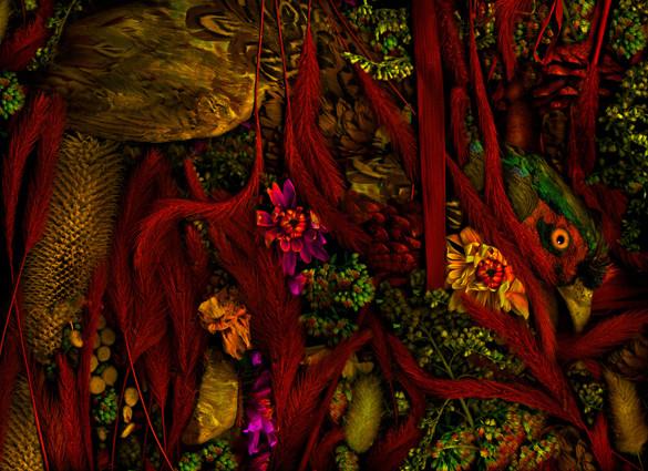 Antonius - magic garden 49, 120x80cm